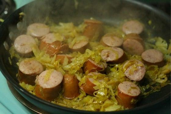 sauerkraut-and-kielbasa