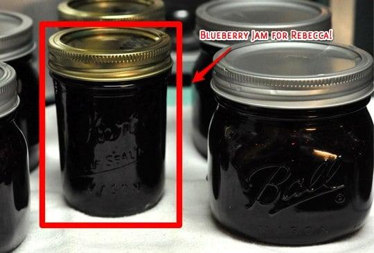 blueberry jam winner