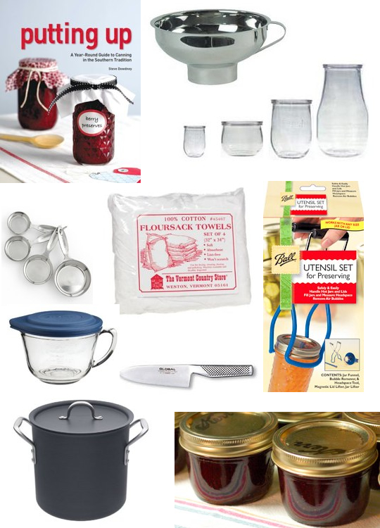 canning gift guide