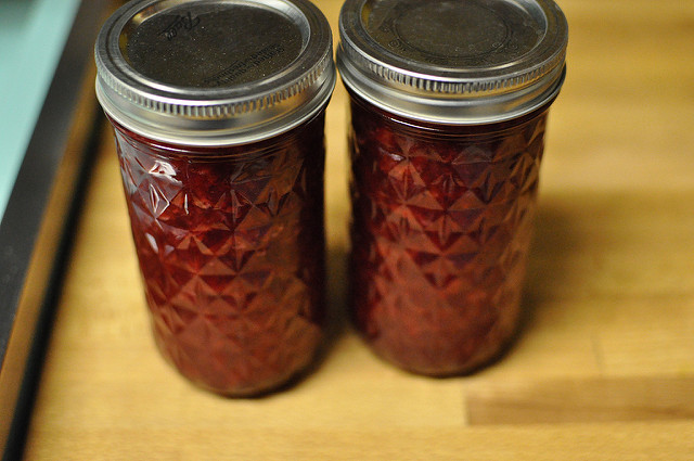 two 12-ounce jars