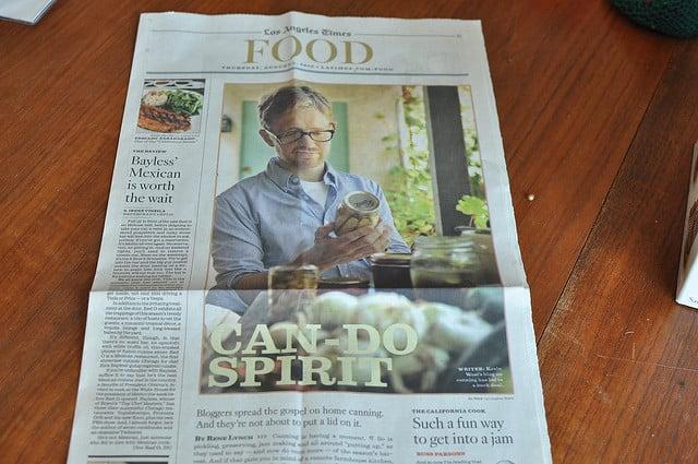 LA Times article cover