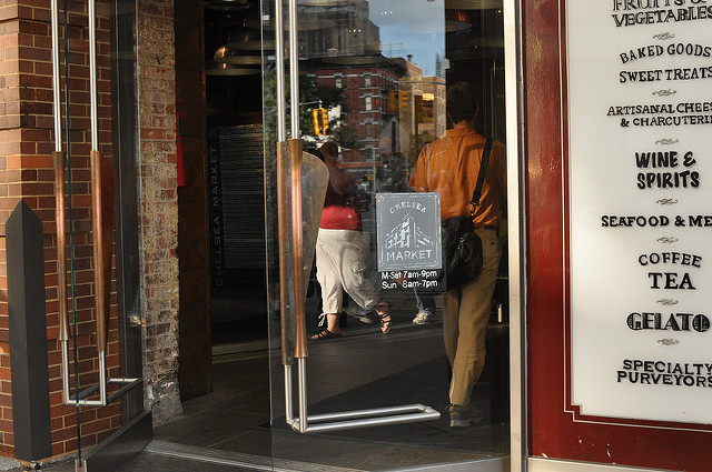 Chelsea Market doors