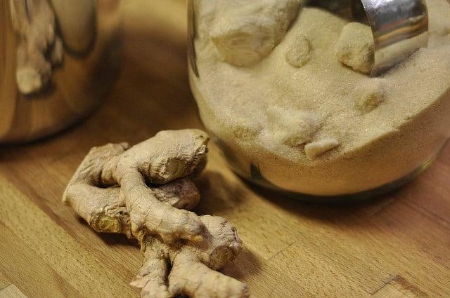 ginger sugar pot