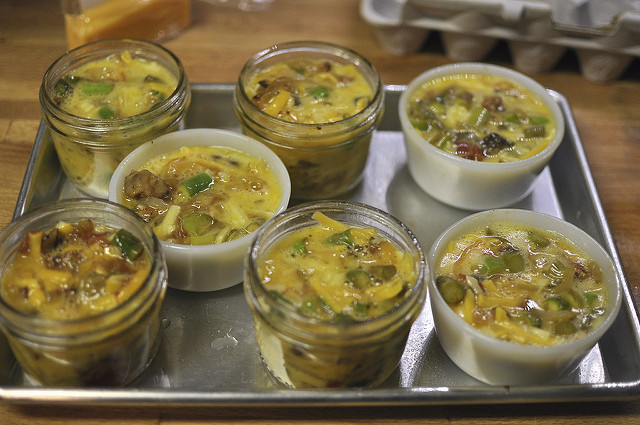 unbaked egg cups