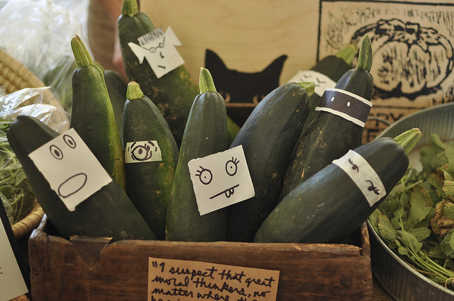 zucchini with personality