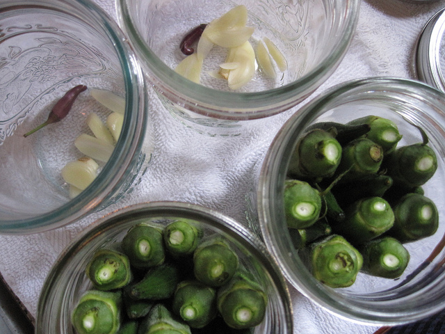 pickling okra