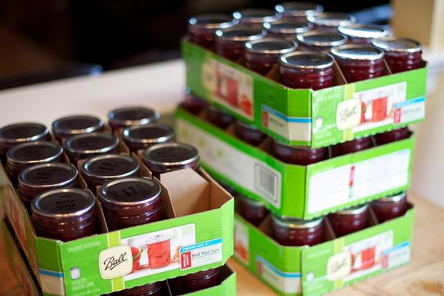 Raspberry and Razzleberry Jam