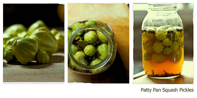 Patty Pan Squash Pickles