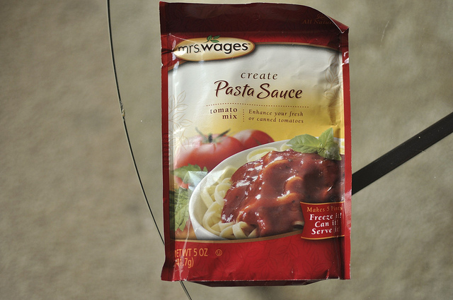 Mrs. Wages pasta sauce