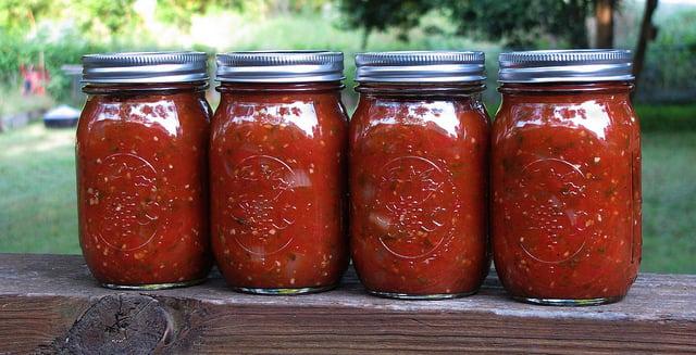 Roasted Garlic & Basil Pasta Sauce