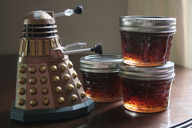Gooseberry jam will be EXTERMINATED.