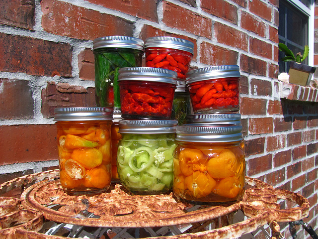 simple pickled peppers