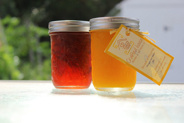Crafted House Strawberry Balsamic Jam and Mango Lime Butter
