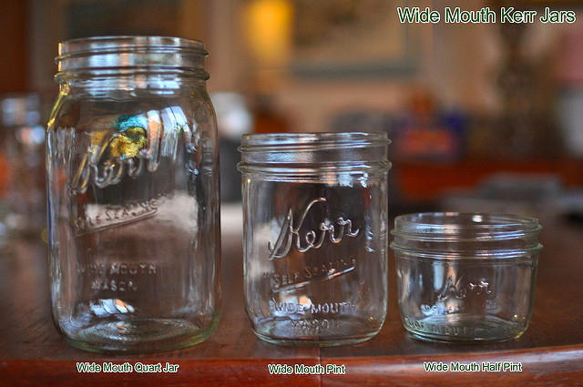 wide mouth kerr jars