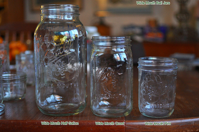 wide mouth ball jars