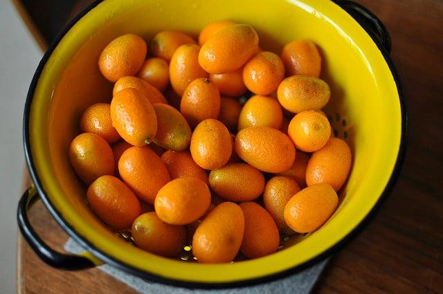 a pound of kumquats