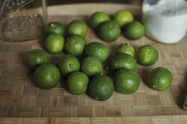 salt preserved key limes