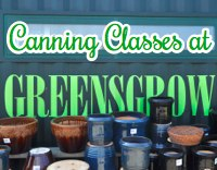 Classes at Greensgrow