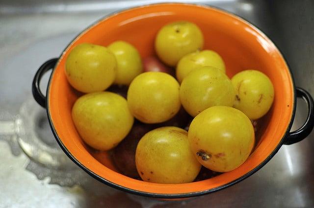 mixed plums