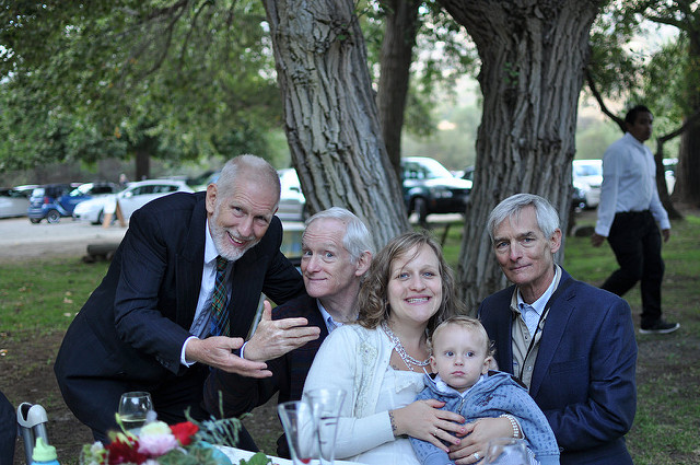 Mike, Mo, Raina, Emmett and Bill