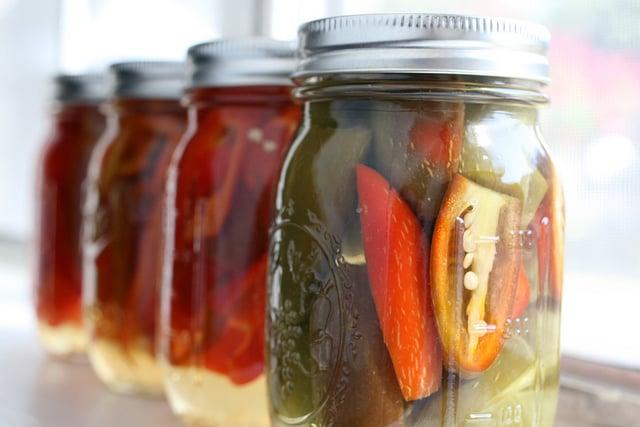 Sahuaro and jalapeno pickles