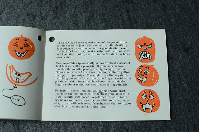 Pumpkin booklet
