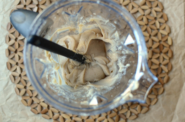 chestnut butter in the blender