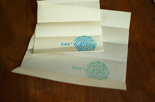 unfolded wraps