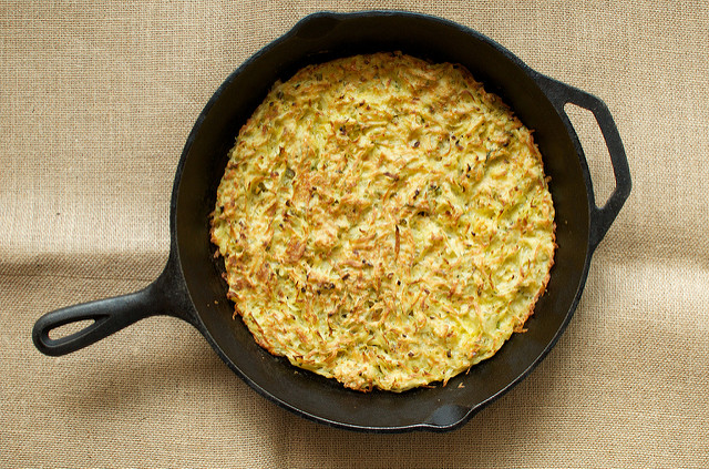 A Giant Potato Pancake for Eat, Write, Retreat's Amazing Apps Challenge