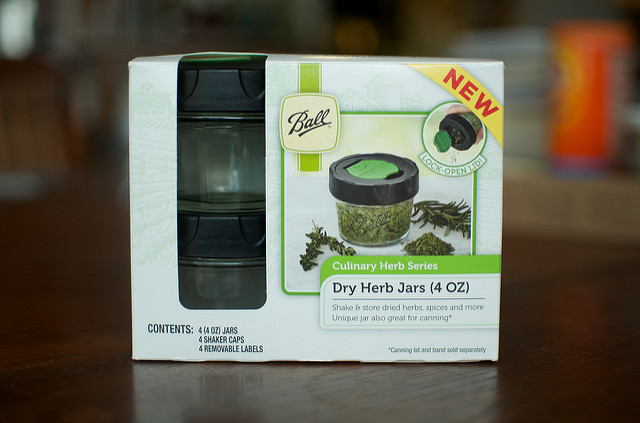 Ball Dry Herb Jars