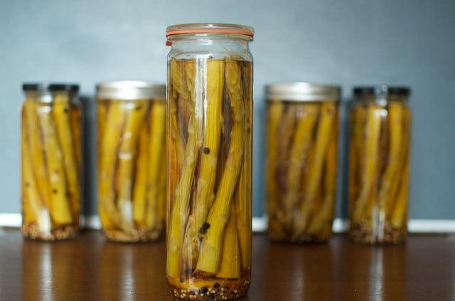 Weck asparagus jars
