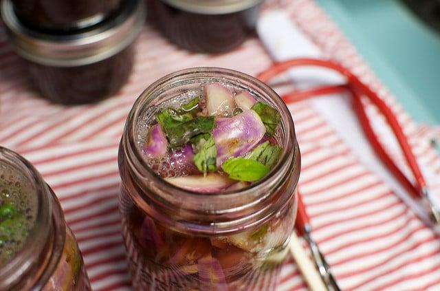 pickled fairytale eggplant