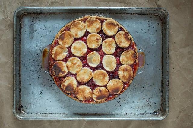 baked cherry pie