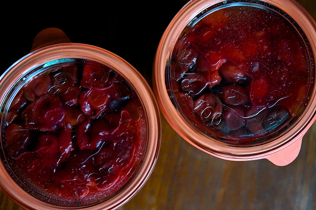 cherry pie filling top