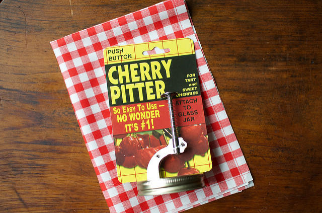 jar cherry pitter