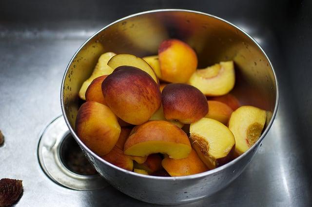 peach quarters
