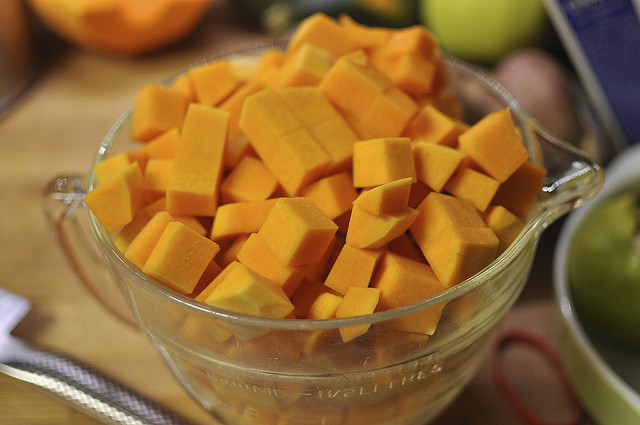 cubed pumpkin