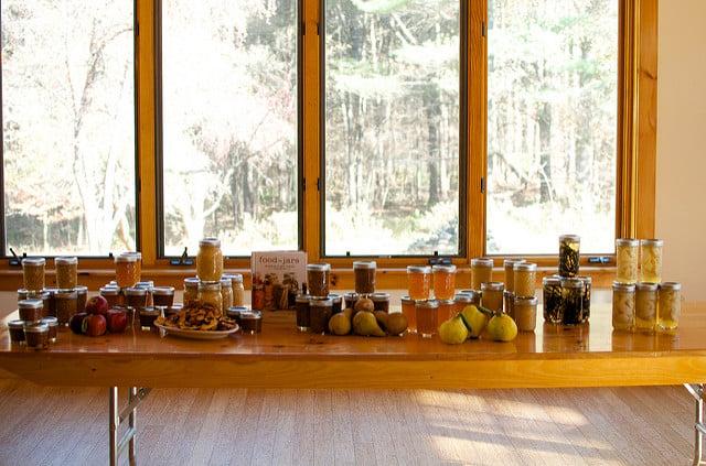 Rowe workshop jars