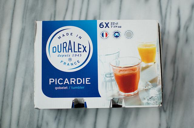 Duralex Picardie packaging