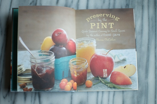 Preserving by the Pint inside spread - Food in Jars