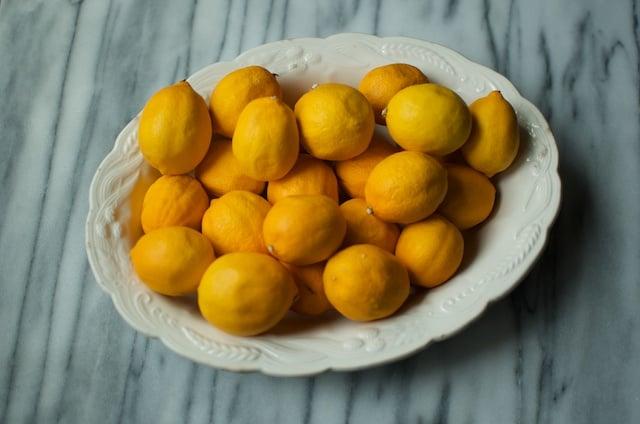 small meyer lemons