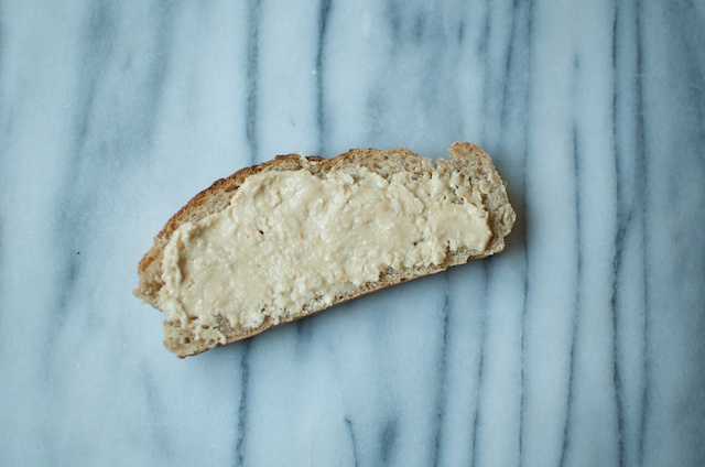 cashew butter on bread - Food in Jars