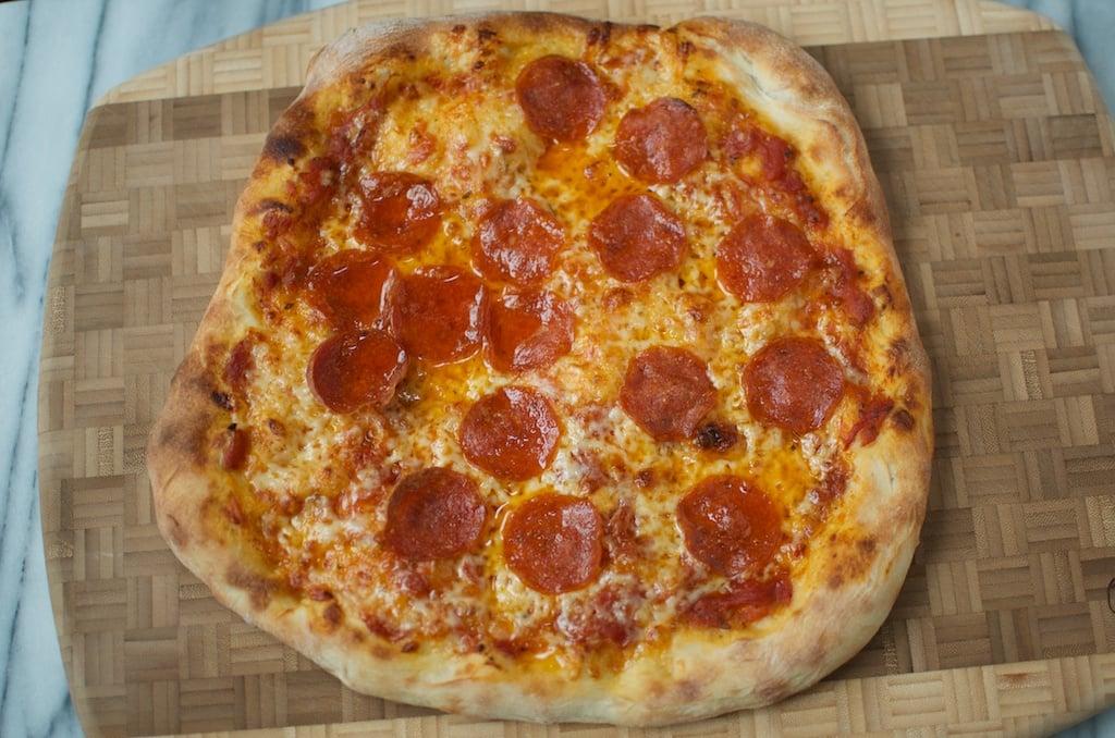 finished pepperoni