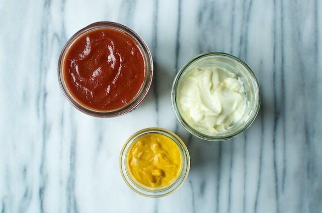 condiments overhead