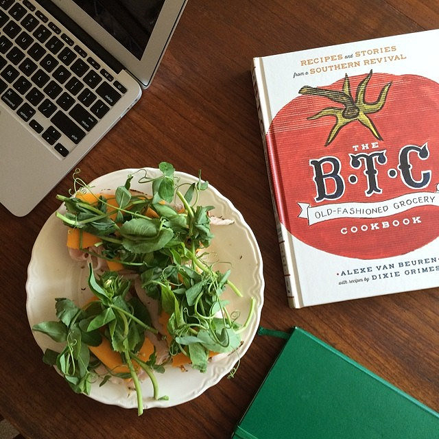 Open faced sandwiches and my current cookbook obsession.