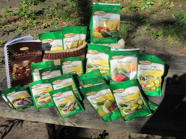 Mrs. Wages Pickle Pack giveaway