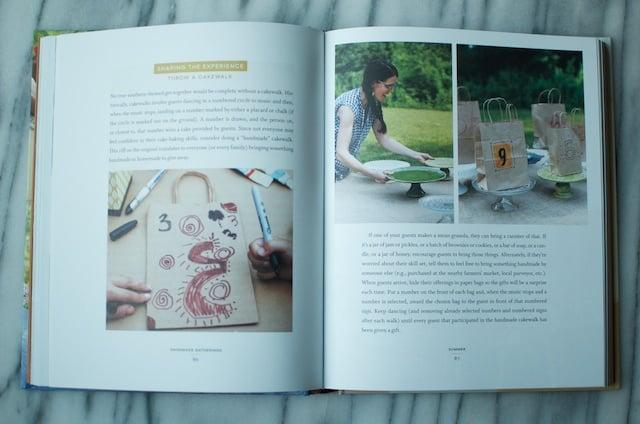 handmade gatherings cake walk
