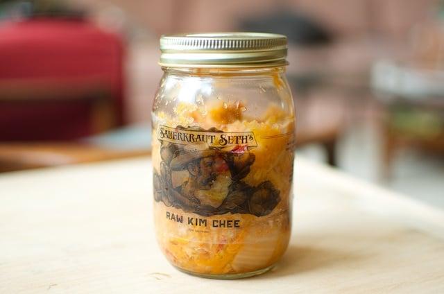 sauerkraut seth kimchee