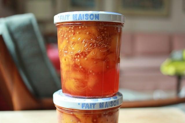 le parfait peach mostarda