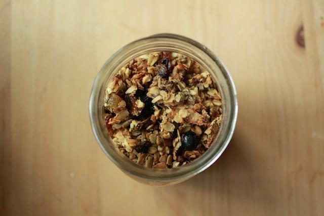 savory cashew granola